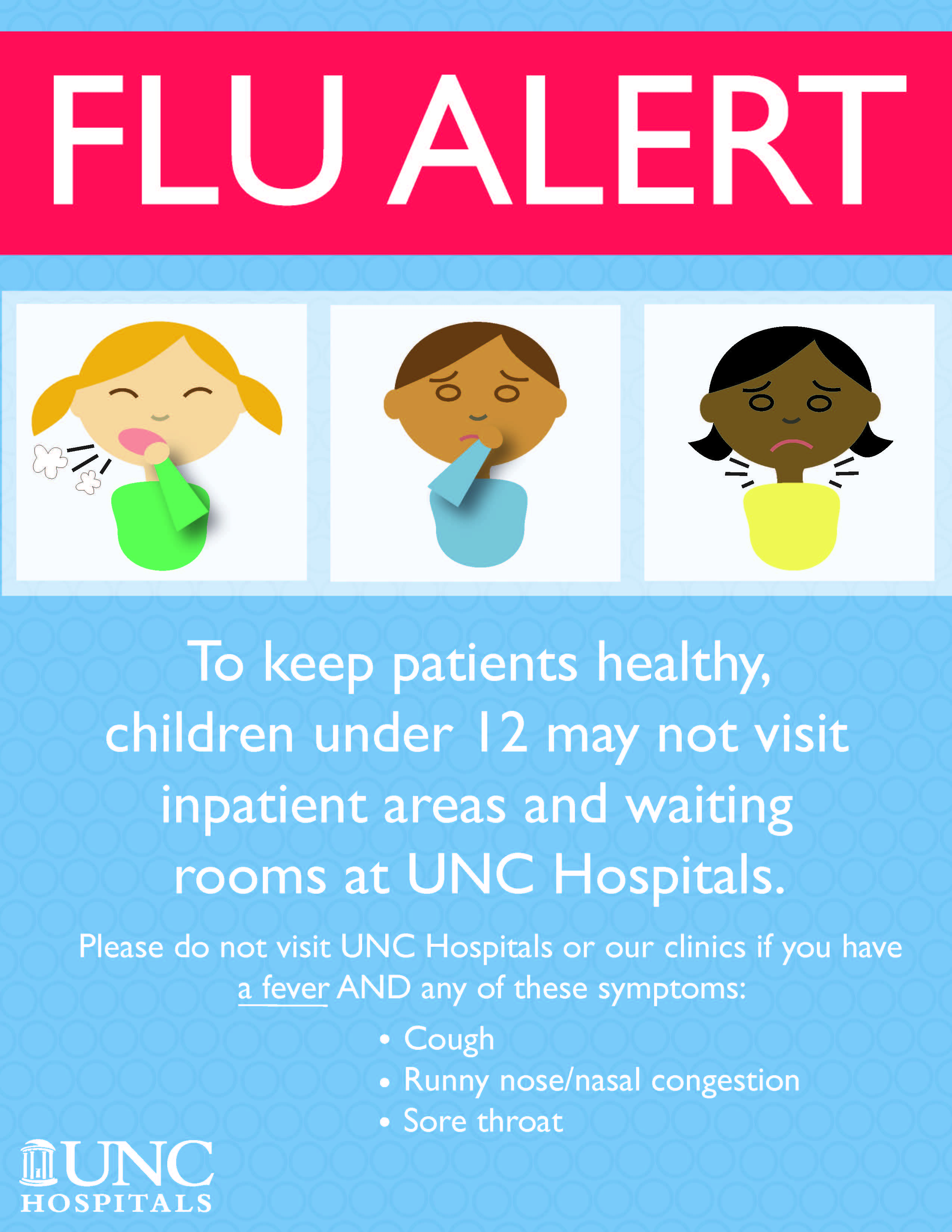 Flu Restrictions for Visitors