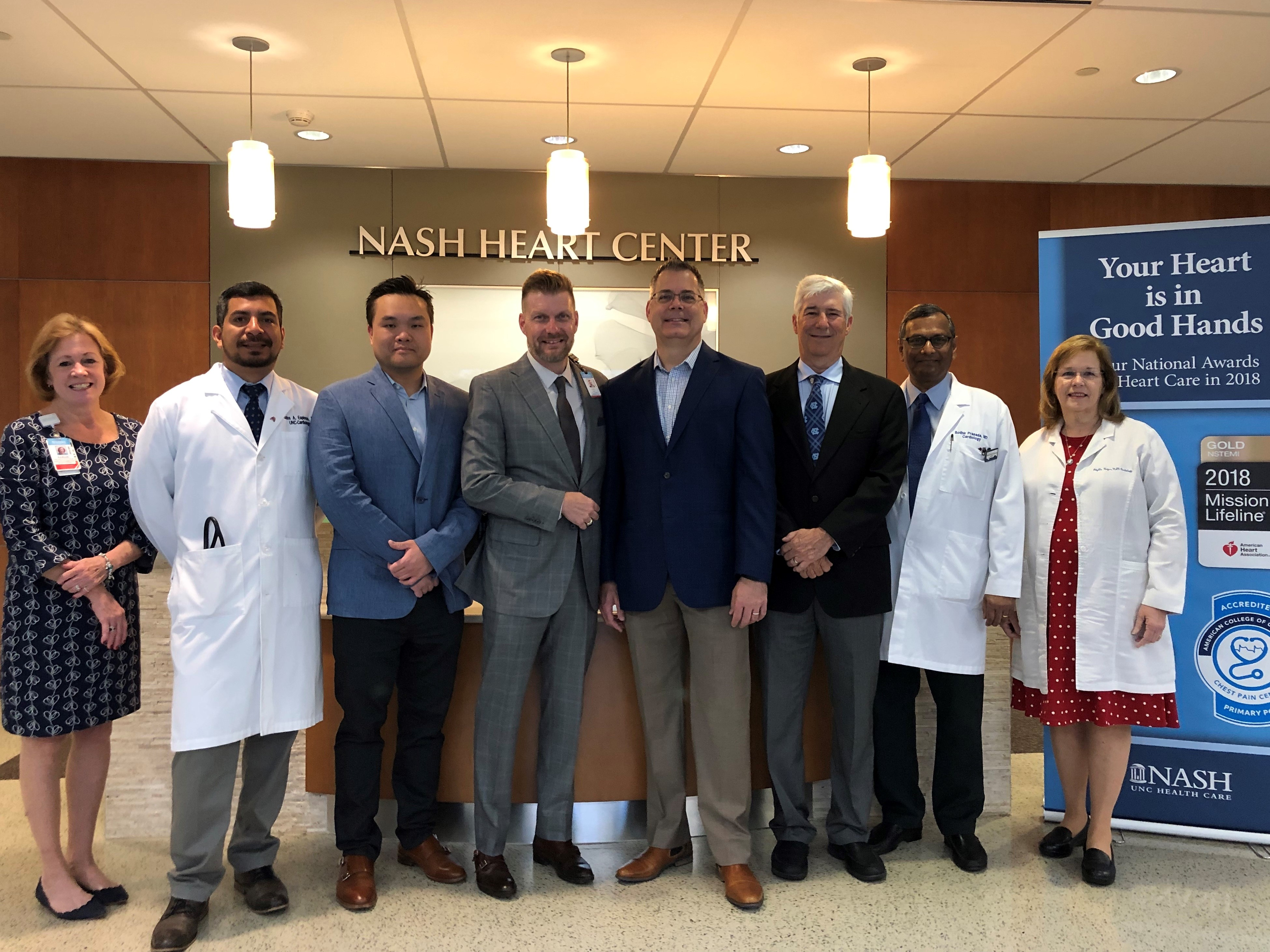 Nash uNC Health Care and Boice-Willis Cardiology Collaboration