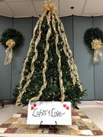 Lights of Love tree on display at Nash UNC Health Care