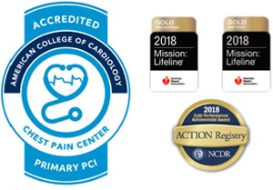 Chest Pain Accreditation Seals